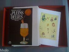 Georges Hugnet Pleins & Déliés E/O 10ex HC Eau Forte Signé Surréalisme