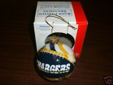 San Diego Chargers  Collectible Hand Painted Ornament