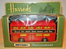 Matchbox 'The LONDONER' HARROD'S Double Decker Bus Model