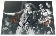 ALICE COOPER Band Signed Autographed 8x10 PHOTO Ryan Roxie TOMMY HENRIKSEN Proof
