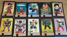 Carte Dragon Ball Z DBZ Battle Scouter #Full Set BANDAI 1992 MADE IN JAPAN