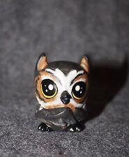 Littlest Pet Shop Custom Horned Owl OOAK Hand Painted LPS