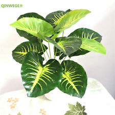 48cm Latex Fabric Artificial Brazil Plant Tree Wedding Home Decor  Green AT102