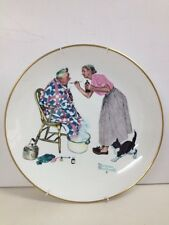 "Gorham Norman Rockwell 1978 Four Seasons Plate ""Spring Tonic"" (Box14)"