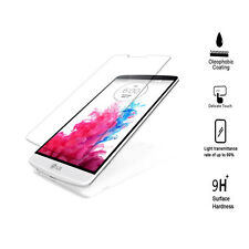 LG G3 Tempered Glass Screen Protector, Olephobic Coating, Anti Glare-9H