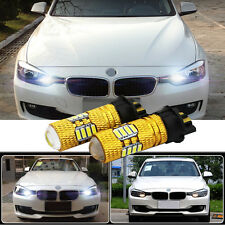 2 Pcs PW24W CREE 80W LED DRL Canbus Error Free All Series F30 Day Time Running