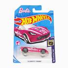 Hot Wheels Barbie '14 Corvette Stingray Pink Diecast Car 2017 - Long Card - New