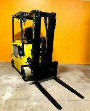 Hyster E50xl 33 5000 Lbs Capacity 14 Max Side Shift Electric Forklift Tested