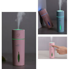 Portátil Mini LED Humidificador Difusor de Aroma Aceite Coche purificador de aire fresco Niebla USB