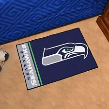 "Seattle Seahawks Uniform Inspired 19"" X 30"" Starter Area Rug Mat"