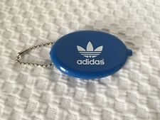 New Adidas Coin Pouch Blue Keychain