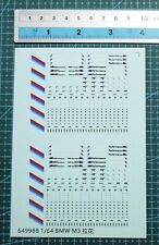 1/64 or other scales decals Bmw car logo for model car (64998B)
