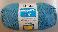 Panda Magnum 8 Ply DK 100g X 1 Acrylic Wool for Crochet or Knitting Yarn - Row 3 Moonstone