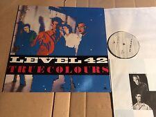 LEVEL 42 - TRUE COLOURS - LP - 823 542-1 - EUROPE 1984 (DI1072)