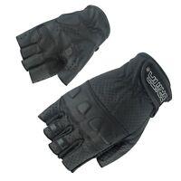 "Orina ""Proto"" Motorradhandschuhe in Größe XL 10, Halbfinger Handschuhe fingerlos"