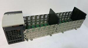 Allen Bradley 1756-A13/B 13-Slot Chassis G01 1756-A13/B 96346073 w Power Supply