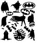 Batman Vinyl Decal Stickers Mixed Size Wall Art Bedroom Deco Superhero