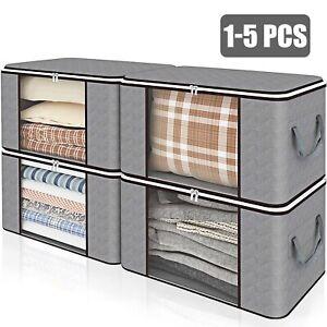 Large Anti Dust Clothes Storage Bag Quilt Blanket Storage Sort Home Organizer