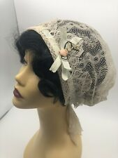 vintage night cap Edwardian Or Victorian .