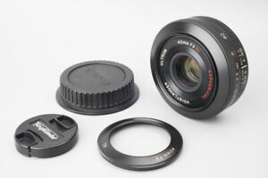 Voigtlander Ultron 40mm f/2 f2 SL II Aspherical Lens, For Canon EF Mount