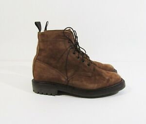 Sanders Men's Kelso Snuff Waxy Suede Derby Boots Size 8.5 **Has Scuff Marks**