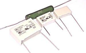 Dual CS505 Tocadiscos Motor PCB Kit de Reparación Condensadores & Resistor Para