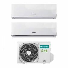 Climatizzatore Condizionatore Hisense Dual Split Inverter 7+9 7000+9000 Btu A++