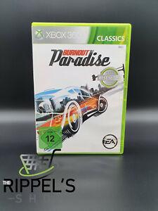 Burnout: Paradise -- Classics (Microsoft Xbox 360, 2010, DVD-Box) - gebraucht
