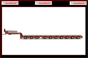 1 50 WSI MAMMOET 3+7 axle BROSHUIS Heavy Trailer - yours in 3 Days!!!