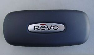TWO (2) New Revo Eyeglasses Sunglasses Case, Clam Shell with soft lining.