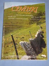 CIMBRI Tzimbar - Anno XIII - n. 28 - Luglio Dicembre 2002 ( Giazza )(E3)