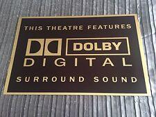 Dolby Digital Home Cinema Sign