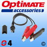 OptiMate 04 SAE Battery Clamp Lead UK Supplier & Warranty NEW