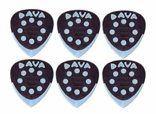 Dava Control Power Grips - Heavy Duty Multi Gauge Guitar Picks - Pack of 6