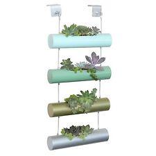 Outdoor Indoor Flower Wall Tower Herb Plant Kit Vertical Garden Planter Growing