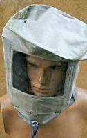 Seltene ABC Gummi Haube Kopfschützer Corona Spuck Schutz Ungetragen Rarität