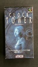 Super Famicom Clock Tower SHVC-P-ANEN (JPN)