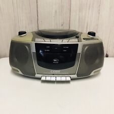 Coby CX-CD248 Portable AM FM Stereo Cassette Recorder CD Player