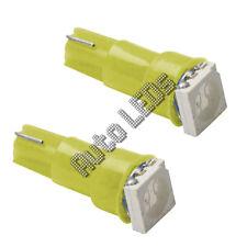 Yellow 5050 SMD LED T5 Wedge 12v Interior LED Bulb