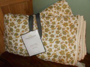 Threshold Pick Stitch Floral Quilt Full/Queen