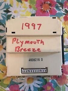1997 Plymouth Breeze SEDAN BCM BCU BODY CONTROL MODULE OEM  P/N: 4606216 D
