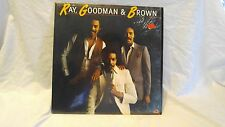 VINYL LP RECORD ALBUM RAY GOODMAN & BROWN SELF TITLED