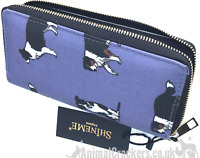 Border Collie Purse Wallet zipped compartments Sheep Dog Sheepdog lover gift