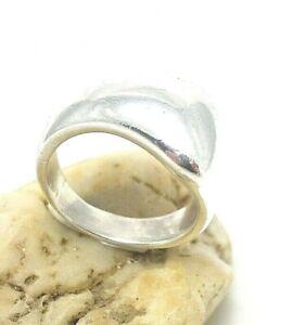 495.Quinn Modernist Designer Ring Silberring 925er Silber RG.54 (17,2 mm Ø)