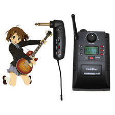 Portable UHF Wireless Guitar Instrument Microphone System Electric Guitar Mic