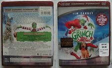 "Dr. Seuss' How Der ""The Grinch"" Stole Christmas HD-DVD + DVD NEW SEALED TOP RARE"