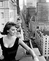 8x10 Print Natalie Wood New York City #NW4