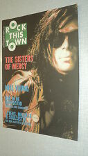 ROCK THIS TOWN NEERLANDAIS 49 (11/90) NEIL YOUNG  SISTERS OF MERCY BRUCE WILLIS