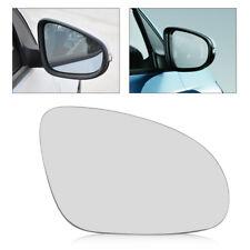 Left passenger Side Wide Wing Mirror Glass+Holder for VW Golf GTI Jetta MK5 EOS