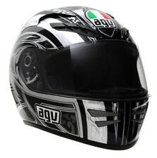 AGV Stealth Razor Full Face Street Motorcycle Helmet Black Grey Gray XSmall XS